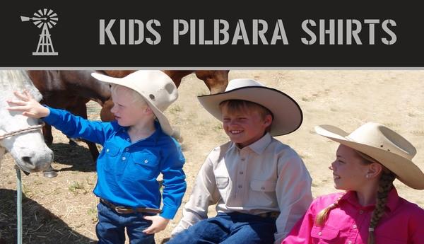 Kids Pilbara C-Front L/S